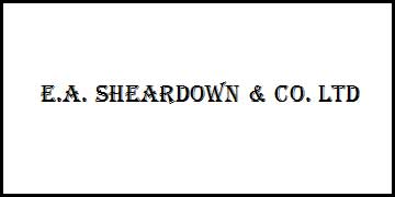 E.A SHEARDOWN & CO LTD